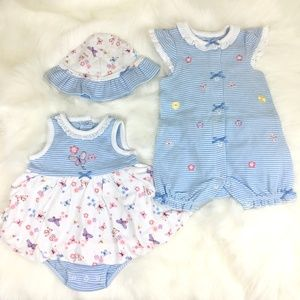 Little Me 3 Piece Set | 3 month